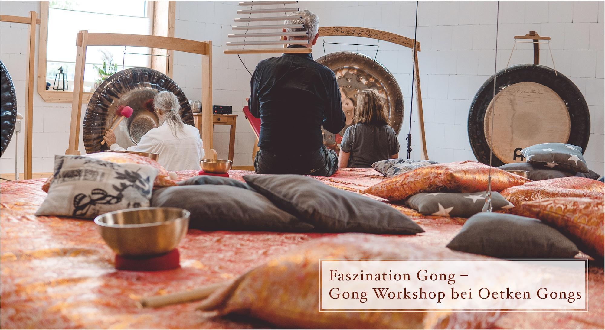 Faszination Gong - Gongworkshop bei Oetken Gongs