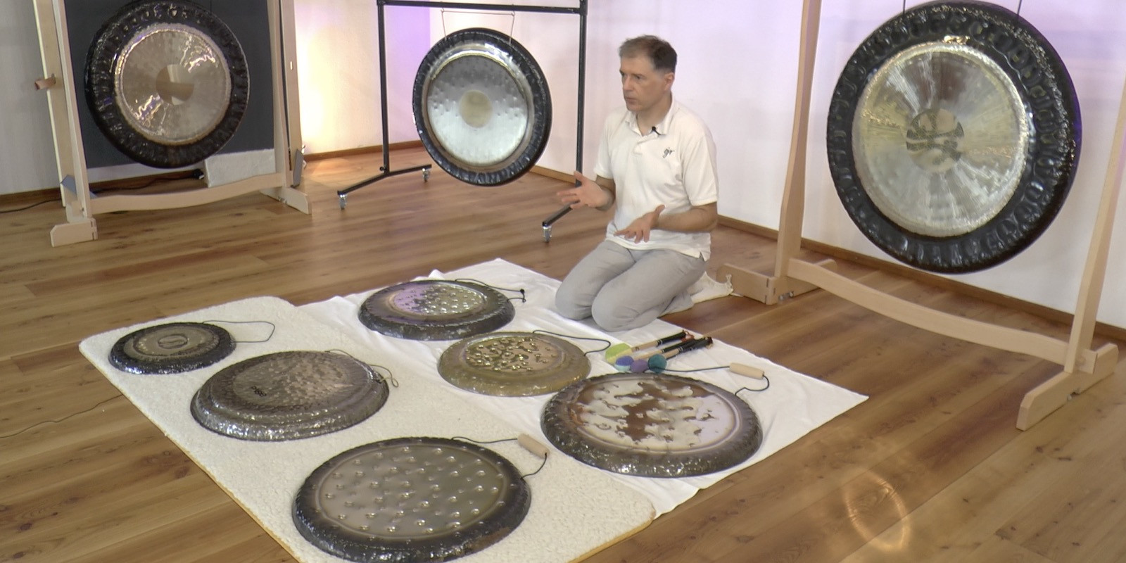 Online Gong Training advanced